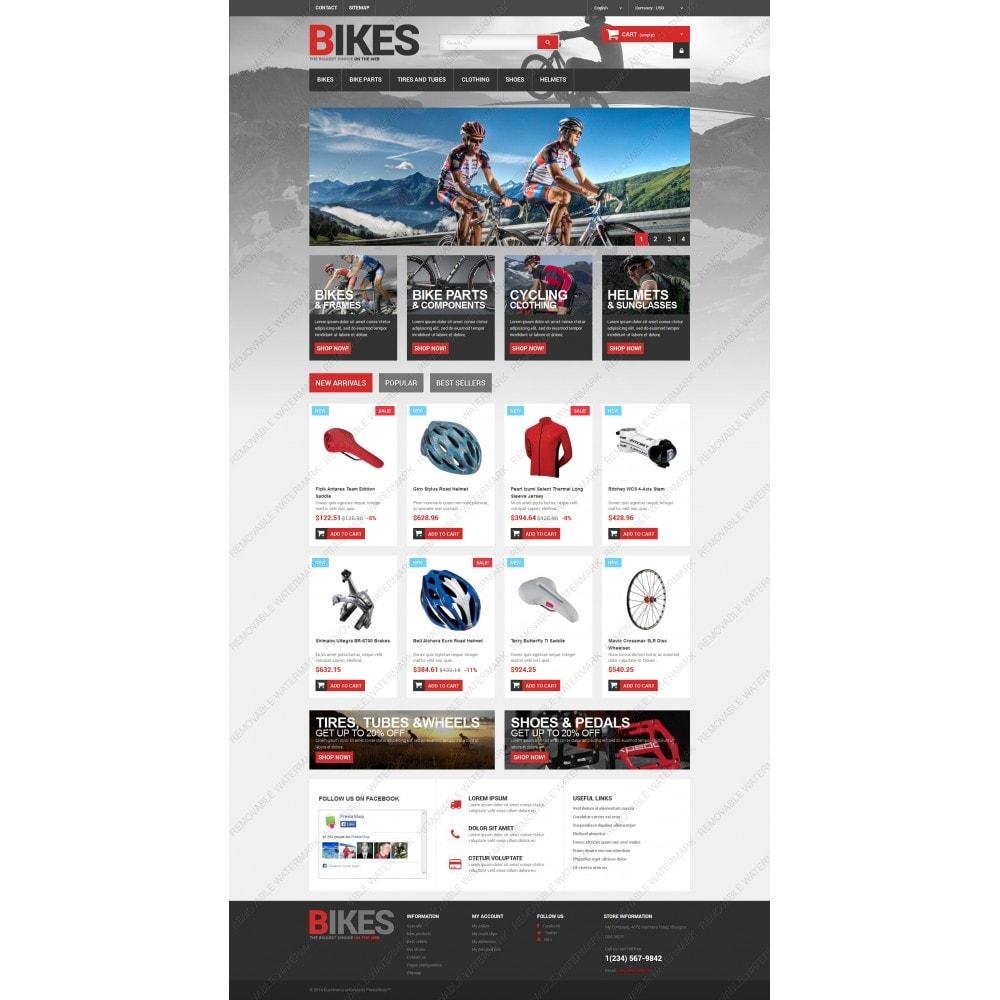 theme - Desporto, Actividades & Viagens - Bikes Store - 3