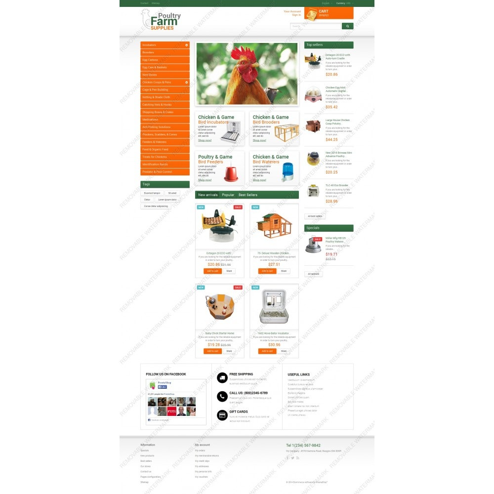 theme - Casa & Jardins - Poultry Farm Supplies - 5
