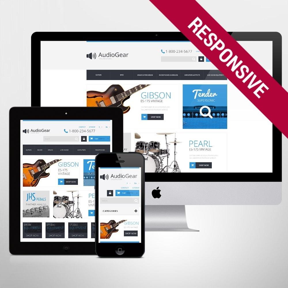 theme - Arte & Cultura - Music Equipment - 1