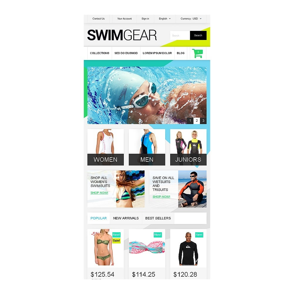 theme - Fashion & Shoes - Swimwear Store - 7