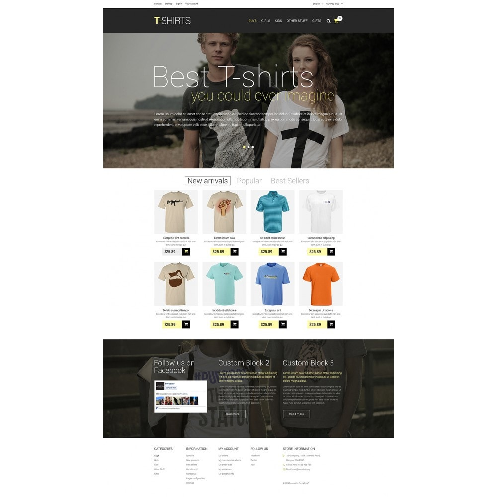 theme - Mode & Chaussures - T-Shirts - 2