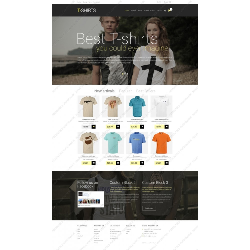 theme - Mode & Chaussures - T-Shirts - 3