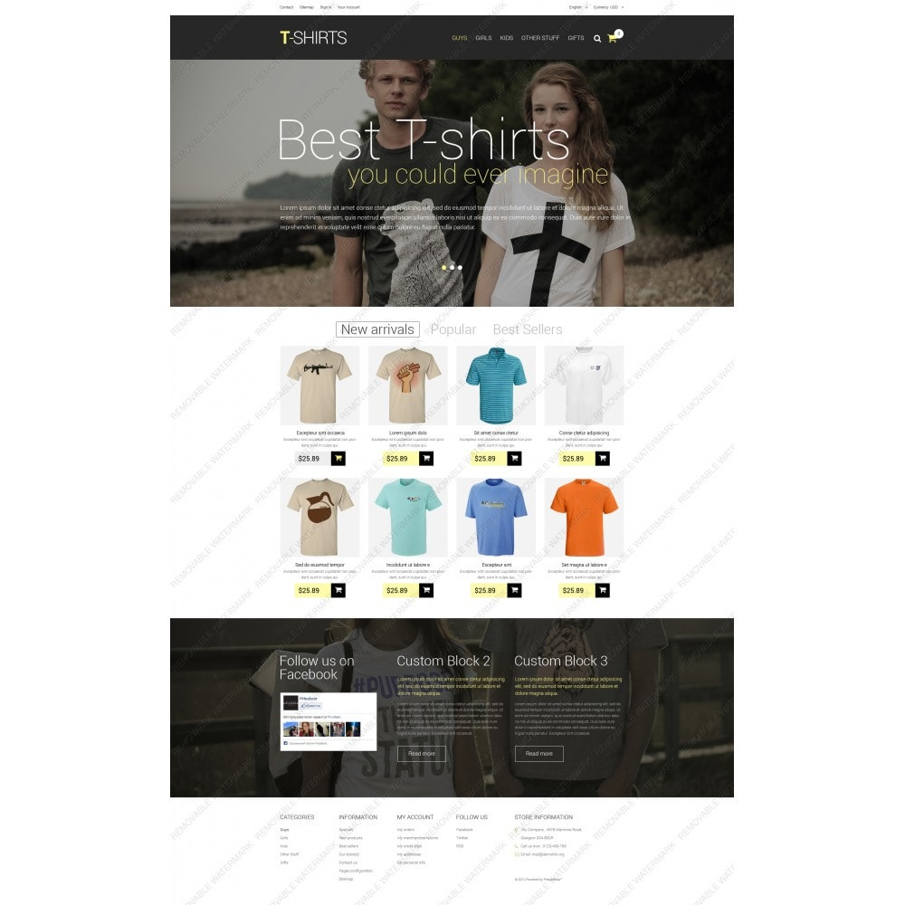theme - Mode & Chaussures - T-Shirts - 5