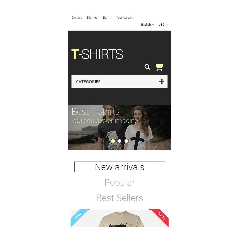theme - Mode & Chaussures - T-Shirts - 8