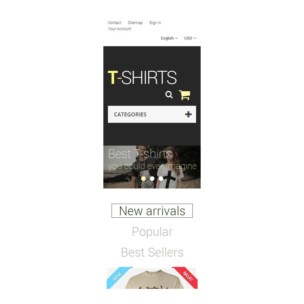 theme - Mode & Chaussures - T-Shirts - 9