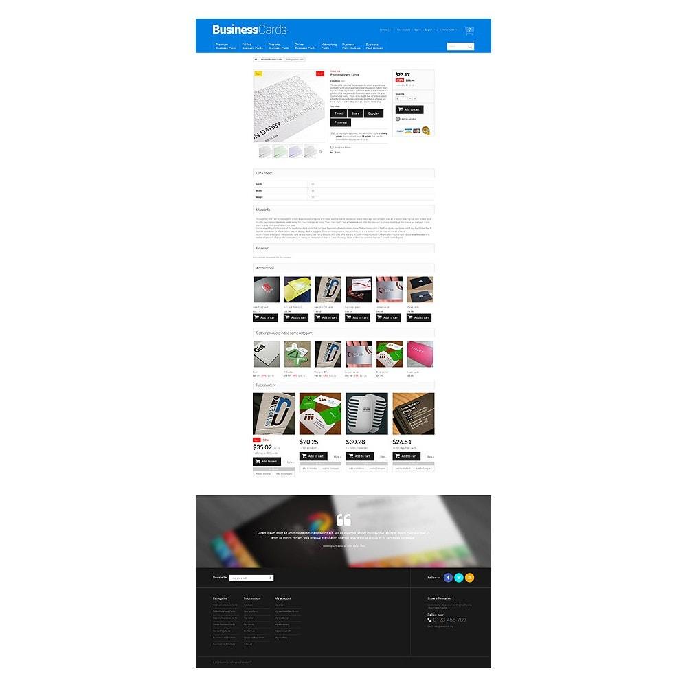 theme - Thèmes PrestaShop - Cartes de visite minutieusement conçues - 6