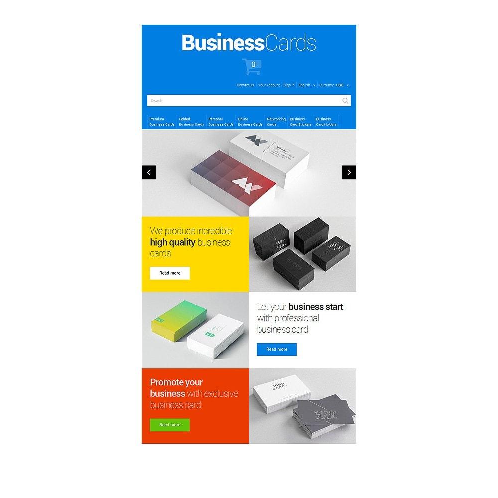 theme - Thèmes PrestaShop - Cartes de visite minutieusement conçues - 7