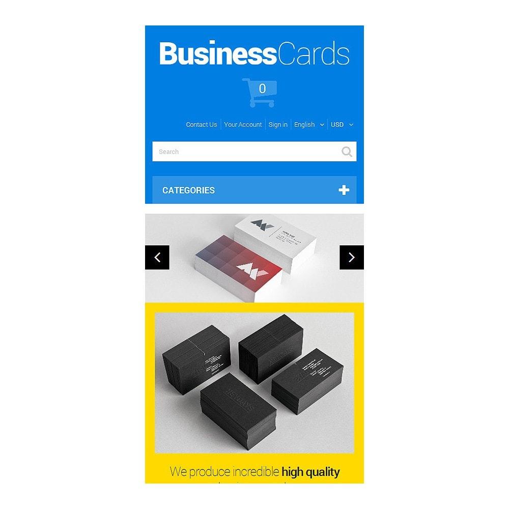 theme - Thèmes PrestaShop - Cartes de visite minutieusement conçues - 8