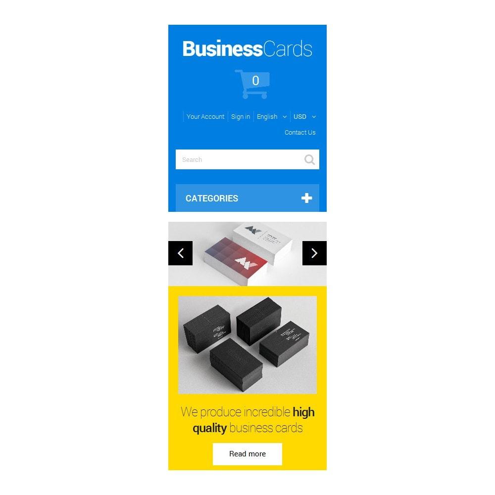 theme - Thèmes PrestaShop - Cartes de visite minutieusement conçues - 9