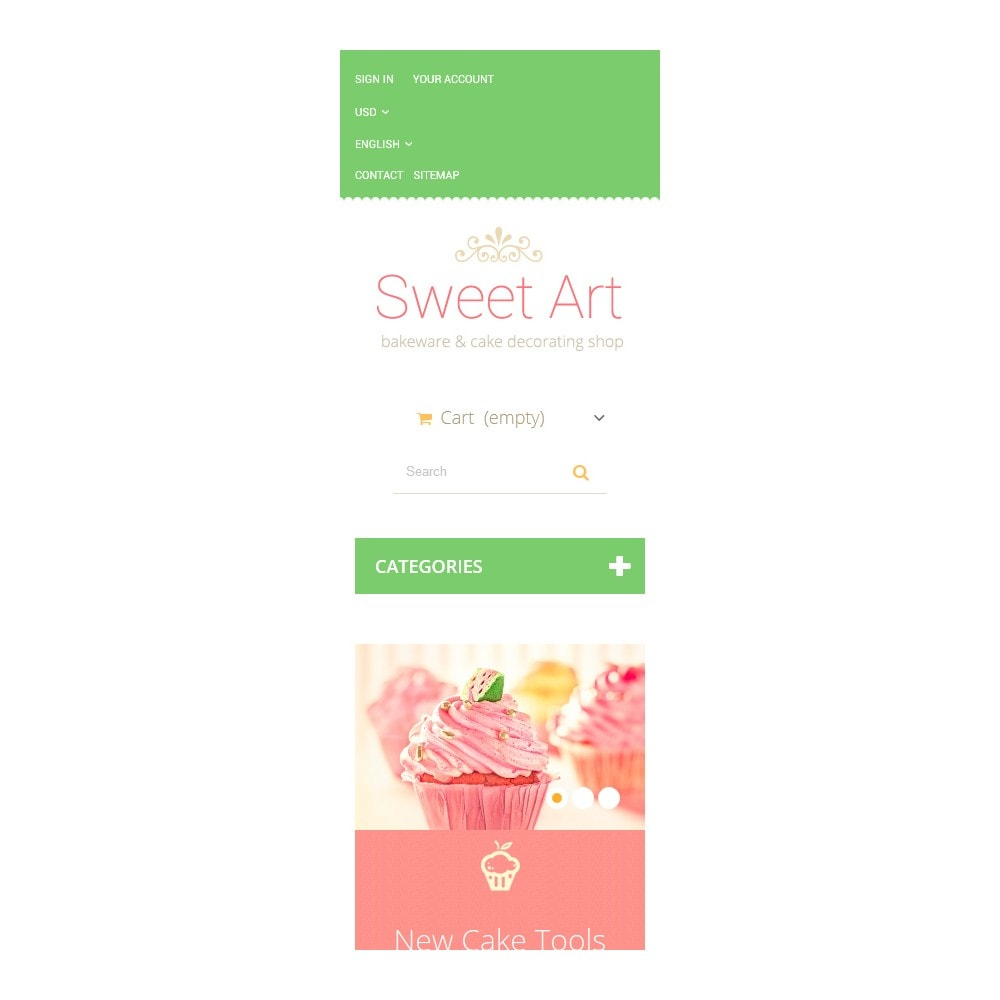 theme - Art & Culture - Sweet Tooth - 9
