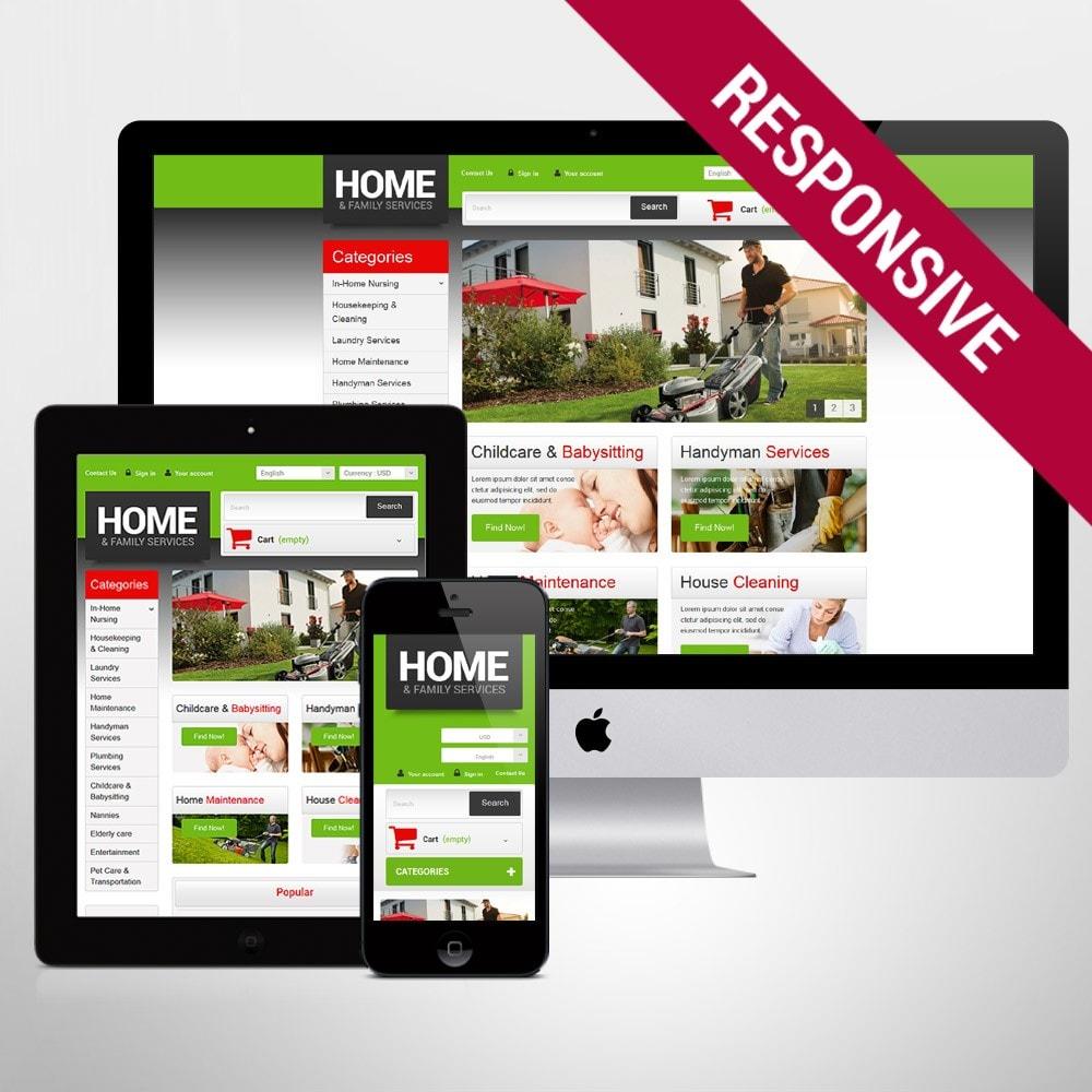 theme - Home & Garden - Home  Family Services - 1