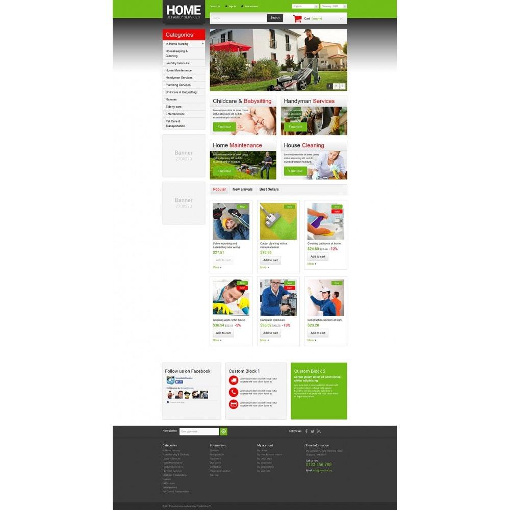 theme - Home & Garden - Home  Family Services - 2