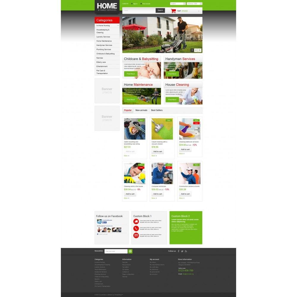 theme - Home & Garden - Home  Family Services - 4