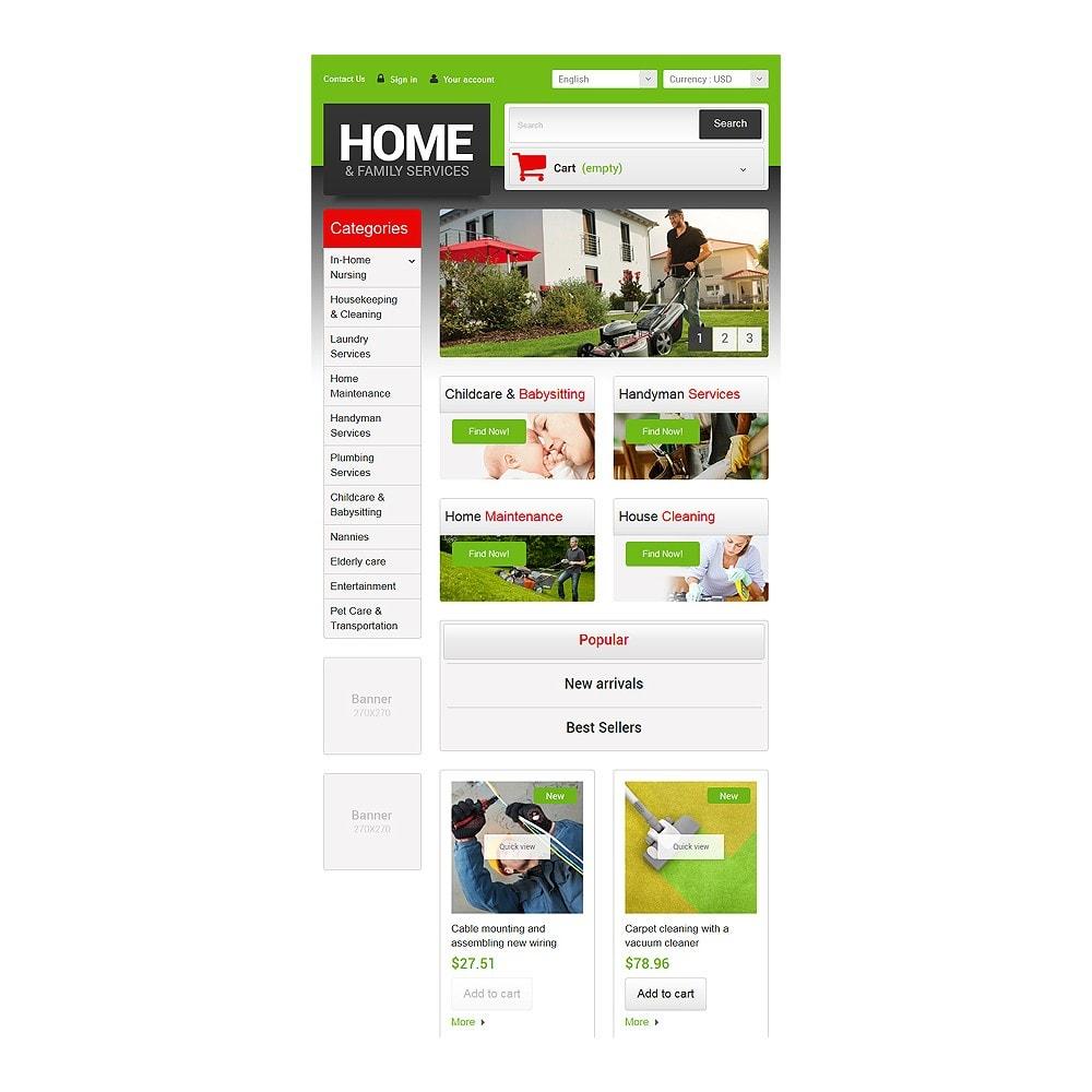 theme - Home & Garden - Home  Family Services - 7