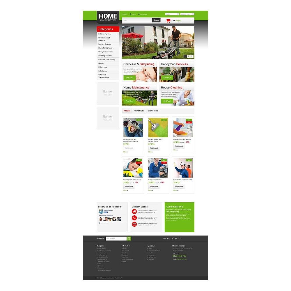 theme - Home & Garden - Home  Family Services - 10