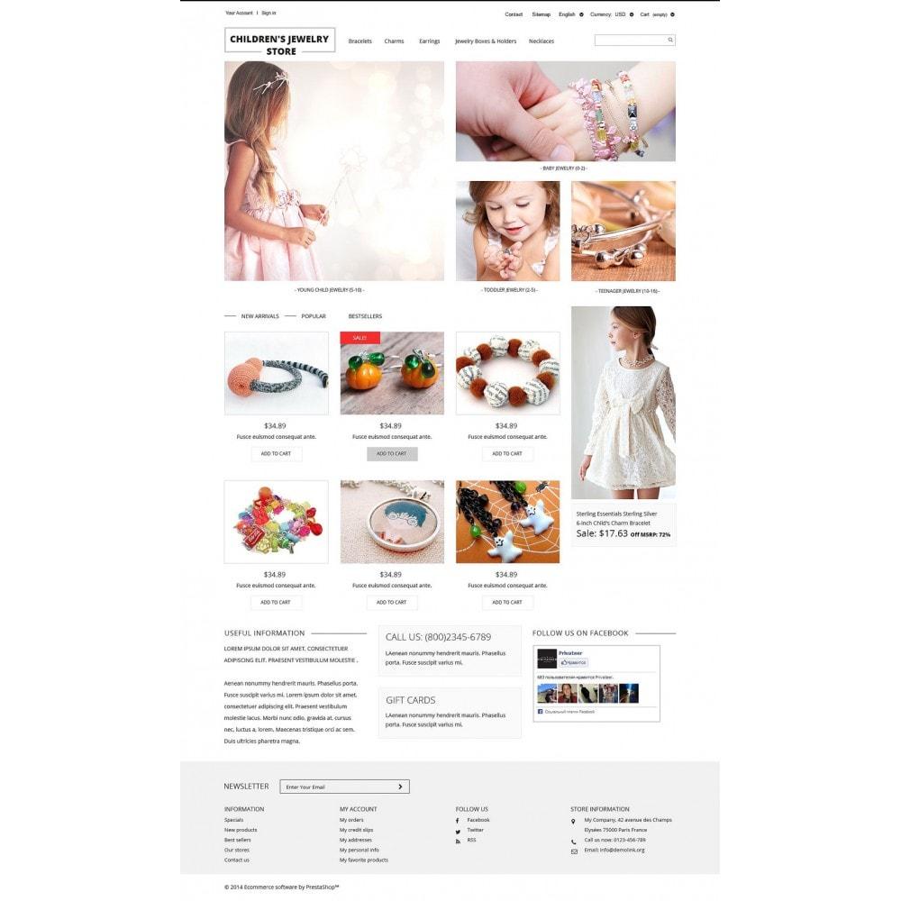 theme - Moda & Calçados - Children's Jewelry Store - 2