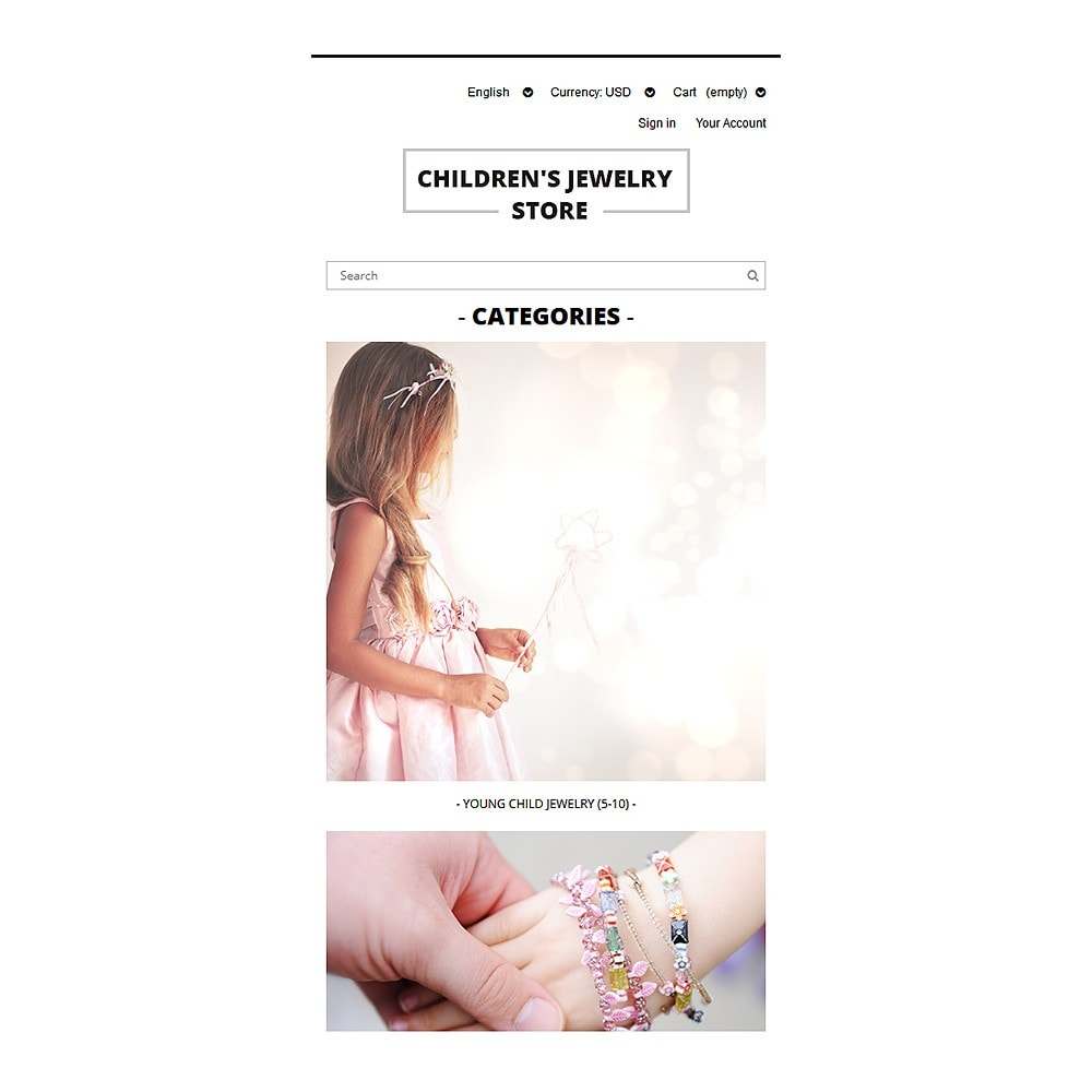 theme - Moda & Calçados - Children's Jewelry Store - 8