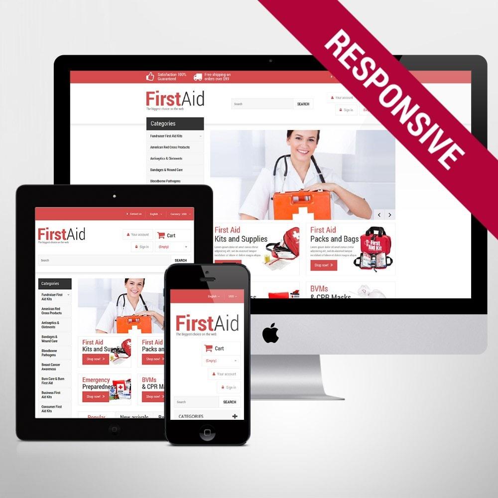 theme - Здоровье и красота - First Aid Store - 1