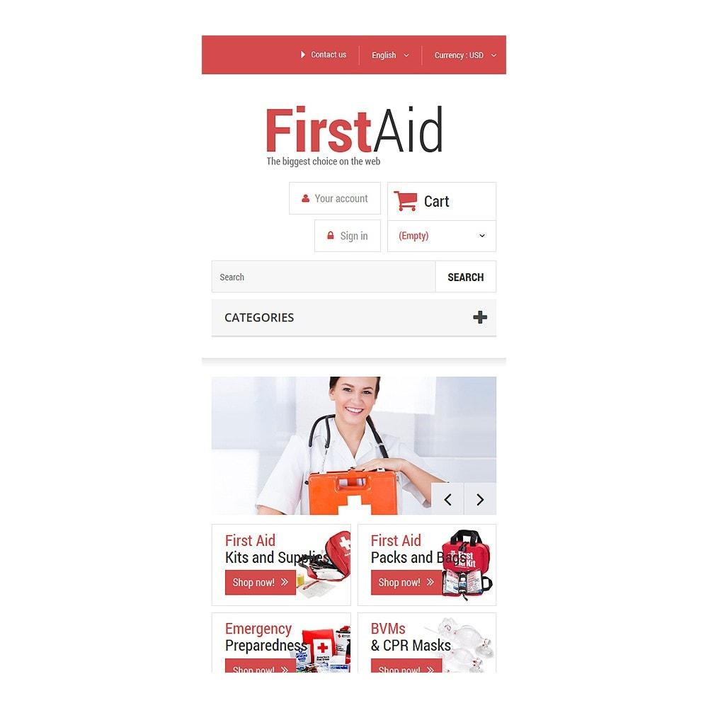 theme - Здоровье и красота - First Aid Store - 8