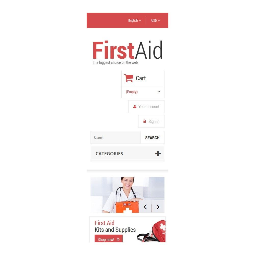 theme - Здоровье и красота - First Aid Store - 9