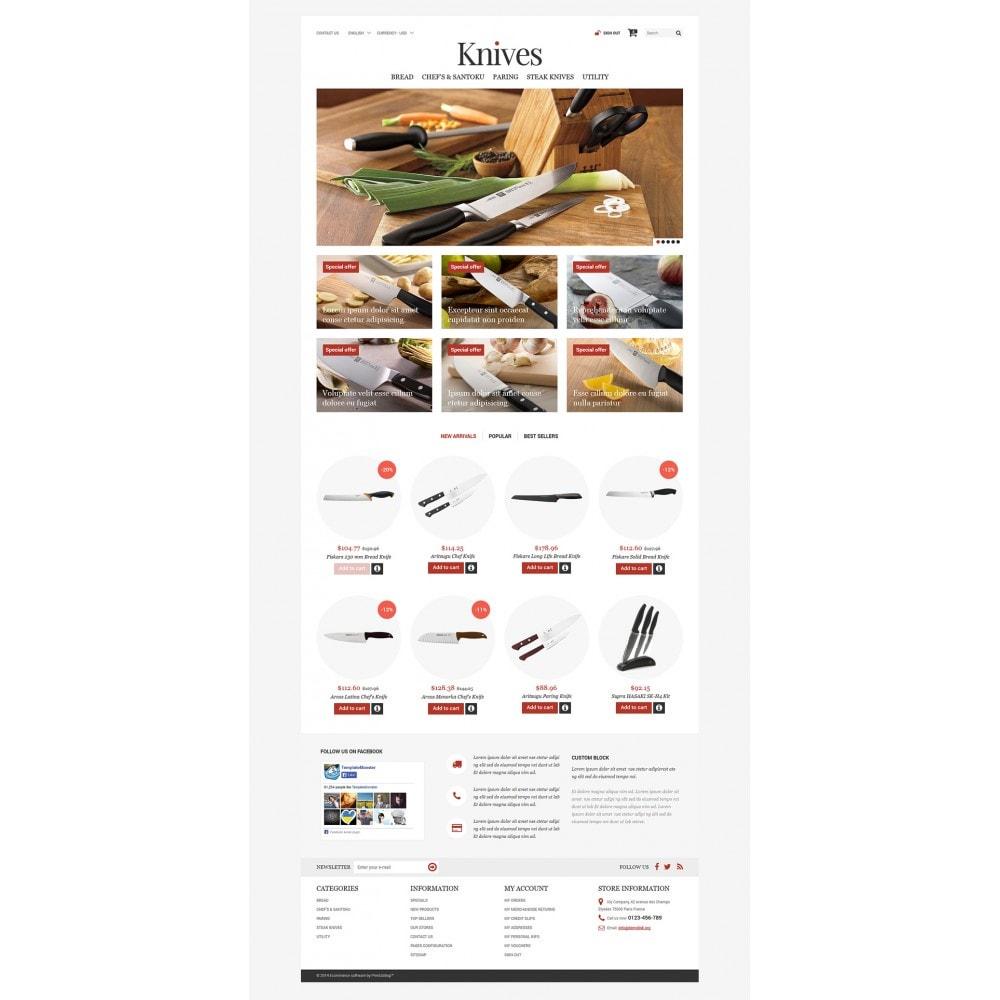 theme - Arte & Cultura - Knives Store - 2