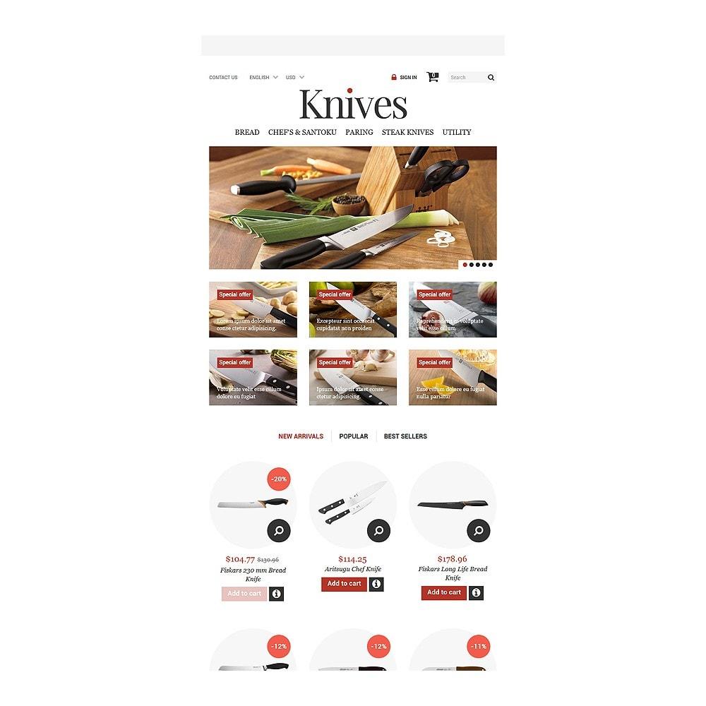 theme - Arte & Cultura - Knives Store - 7