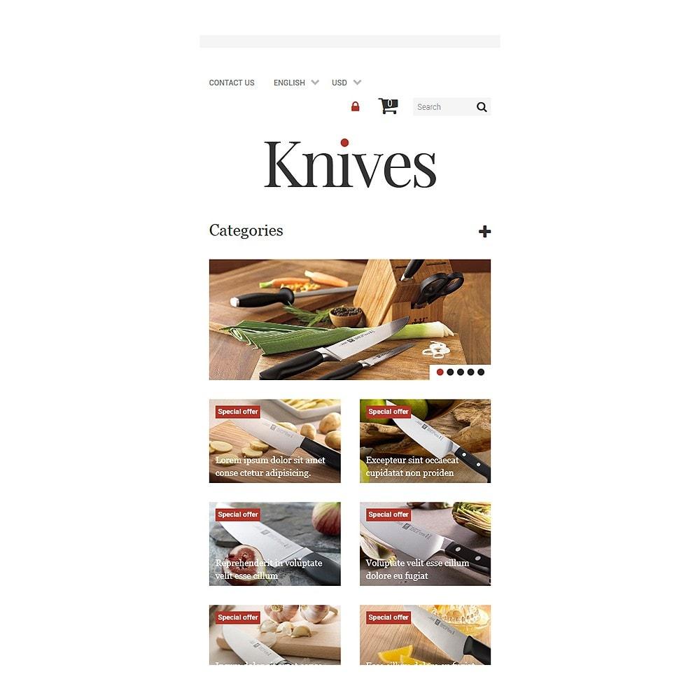 theme - Arte & Cultura - Knives Store - 8