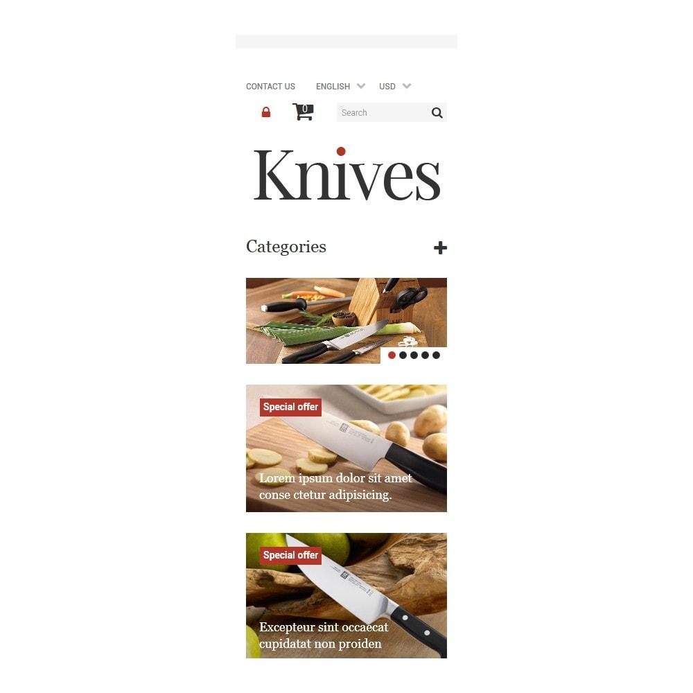 theme - Arte & Cultura - Knives Store - 9