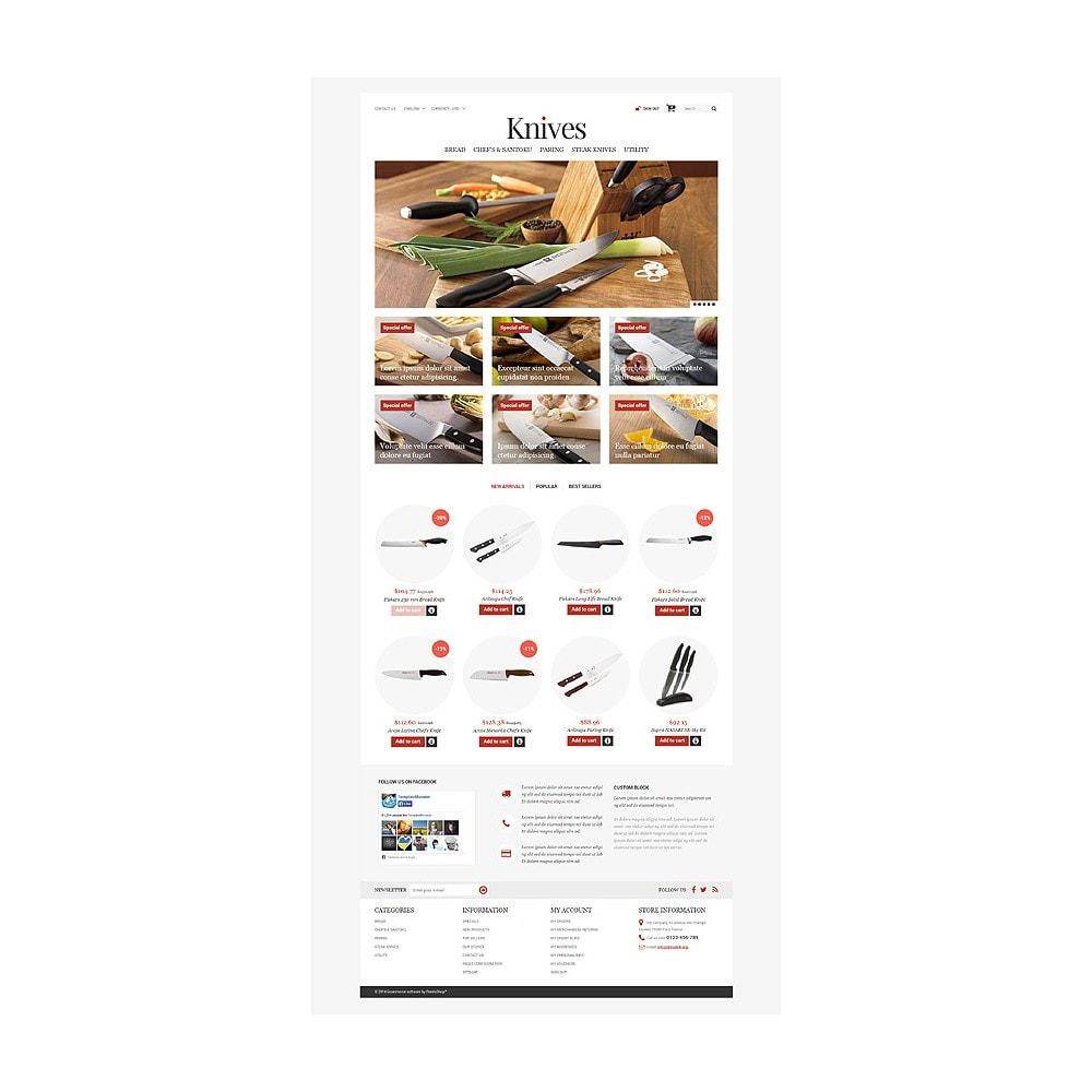 theme - Arte & Cultura - Knives Store - 10