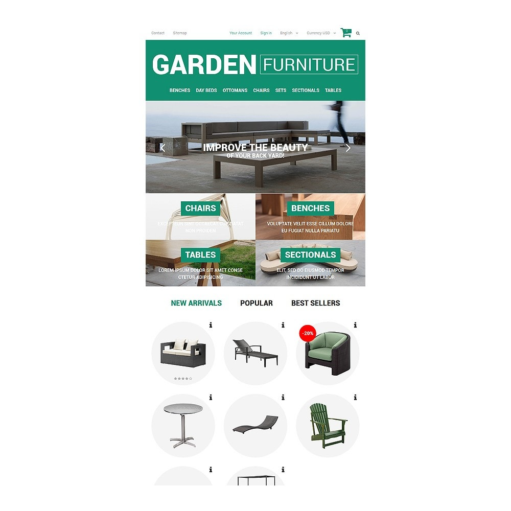 theme - Искусство и Культура - Garden Furniture and Sheds - 7
