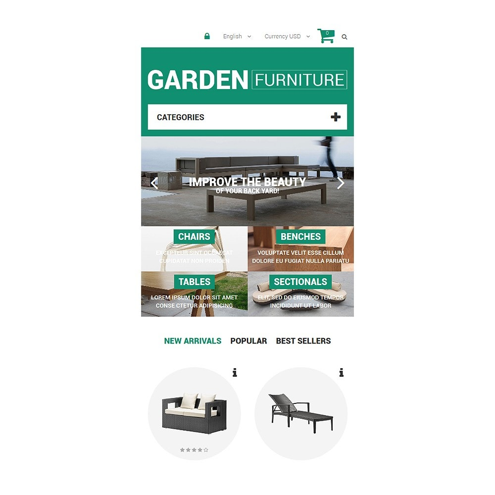 theme - Искусство и Культура - Garden Furniture and Sheds - 8