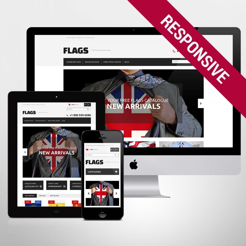 theme - PrestaShop Szablony - Flag Shop - 1