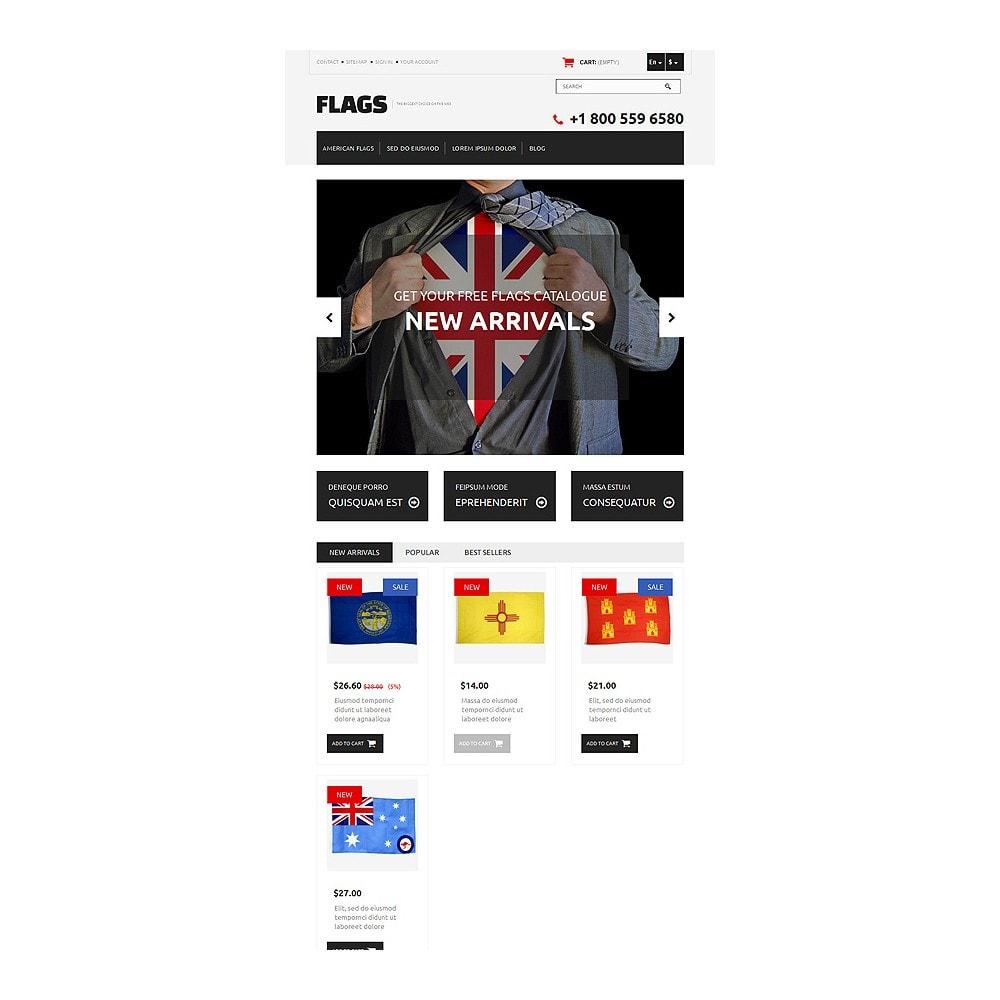 theme - Temas PrestaShop - Flag Shop - 7