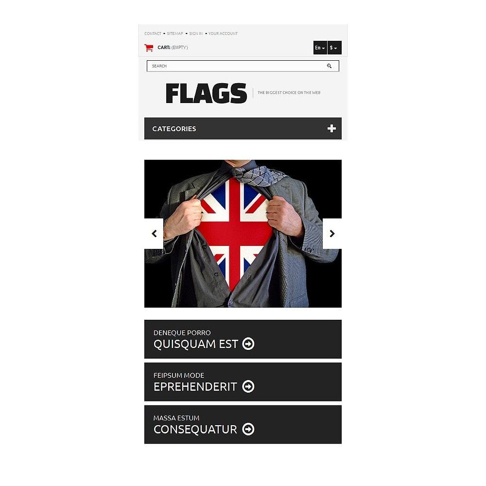 theme - PrestaShop Szablony - Flag Shop - 8