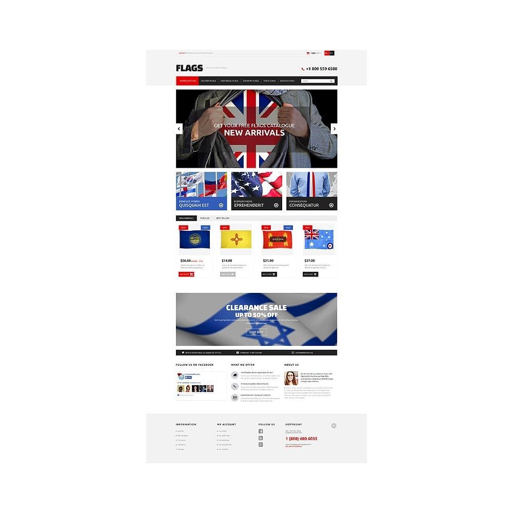 theme - Temas PrestaShop - Flag Shop - 10