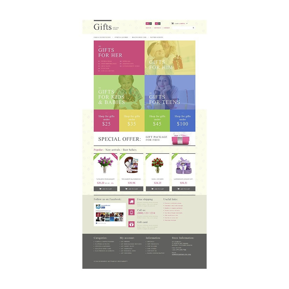 theme - Gifts, Flowers & Celebrations - Gift Shop - 1