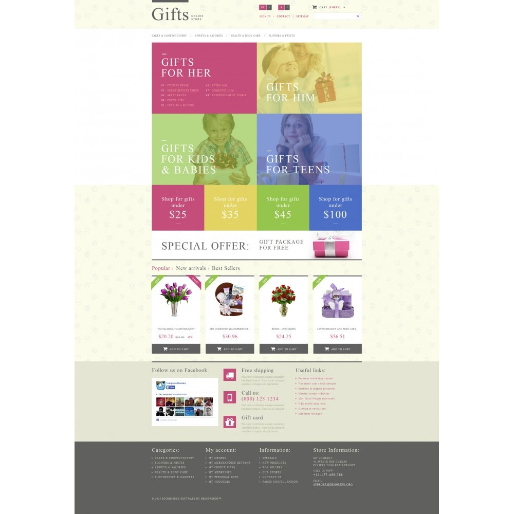 theme - Gifts, Flowers & Celebrations - Gift Shop - 4