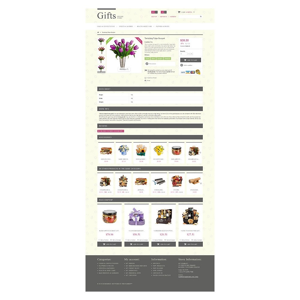theme - Gifts, Flowers & Celebrations - Gift Shop - 7