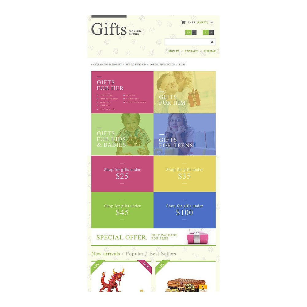 theme - Gifts, Flowers & Celebrations - Gift Shop - 8