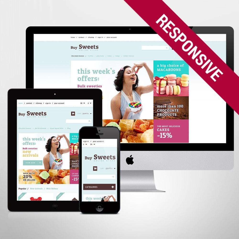 theme - Cibo & Ristorazione - Sweet Store - 1