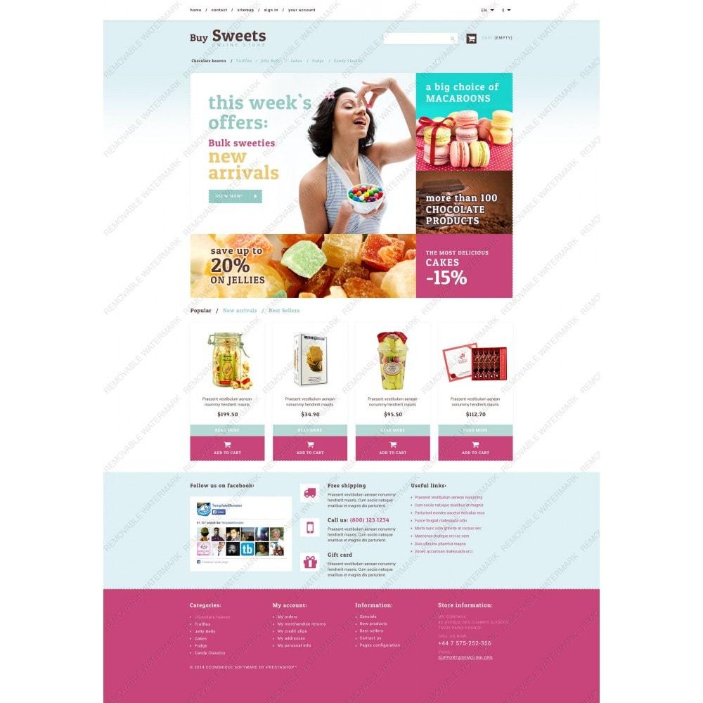 theme - Cibo & Ristorazione - Sweet Store - 3