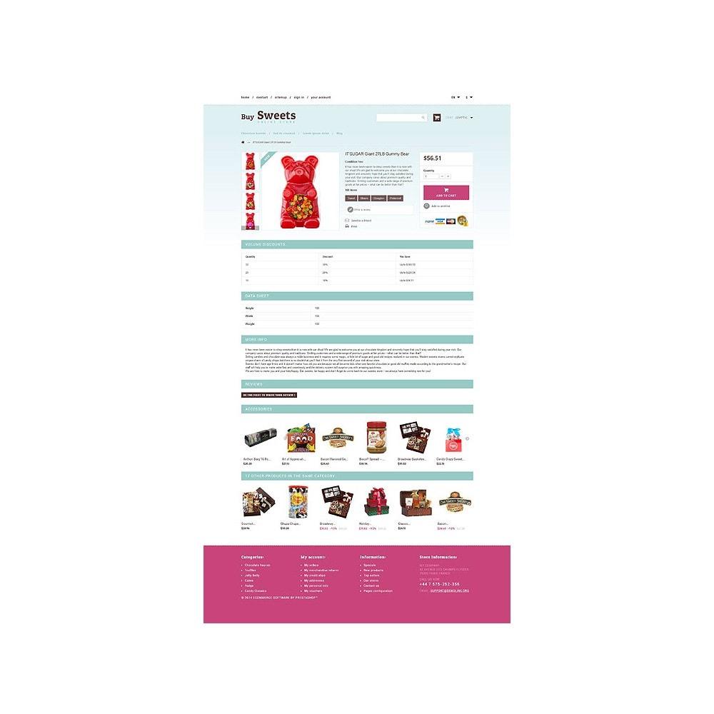 theme - Cibo & Ristorazione - Sweet Store - 6
