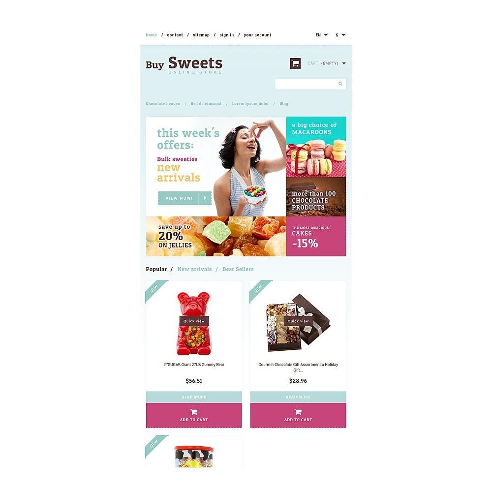 theme - Cibo & Ristorazione - Sweet Store - 7