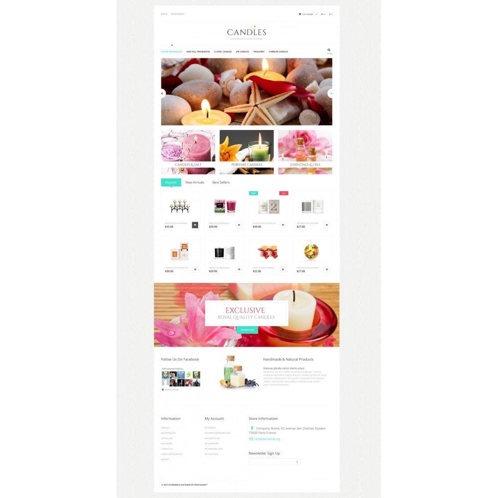 theme - Cadeaux, Fleurs et Fêtes - Handmade Candles Store - 4