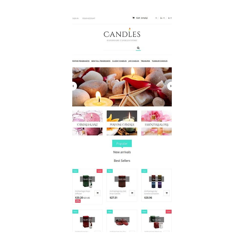 theme - Cadeaux, Fleurs et Fêtes - Handmade Candles Store - 7