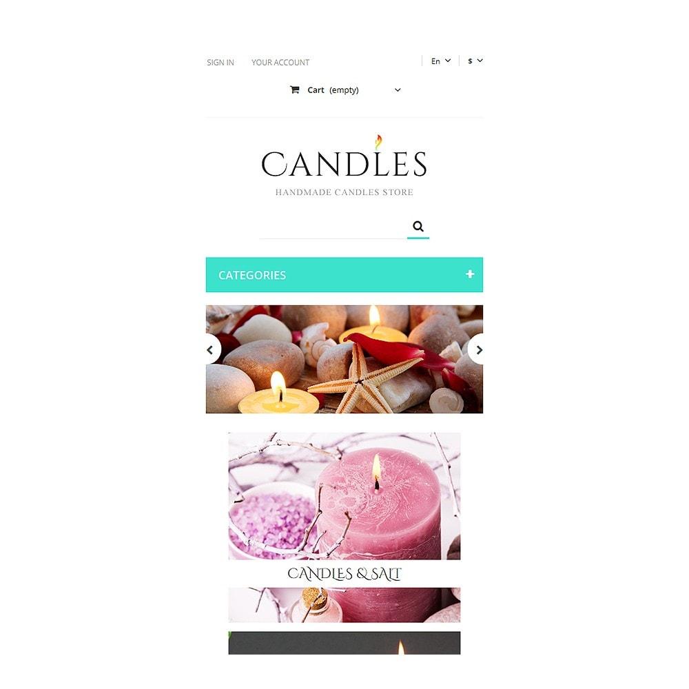 theme - Cadeaux, Fleurs et Fêtes - Handmade Candles Store - 8
