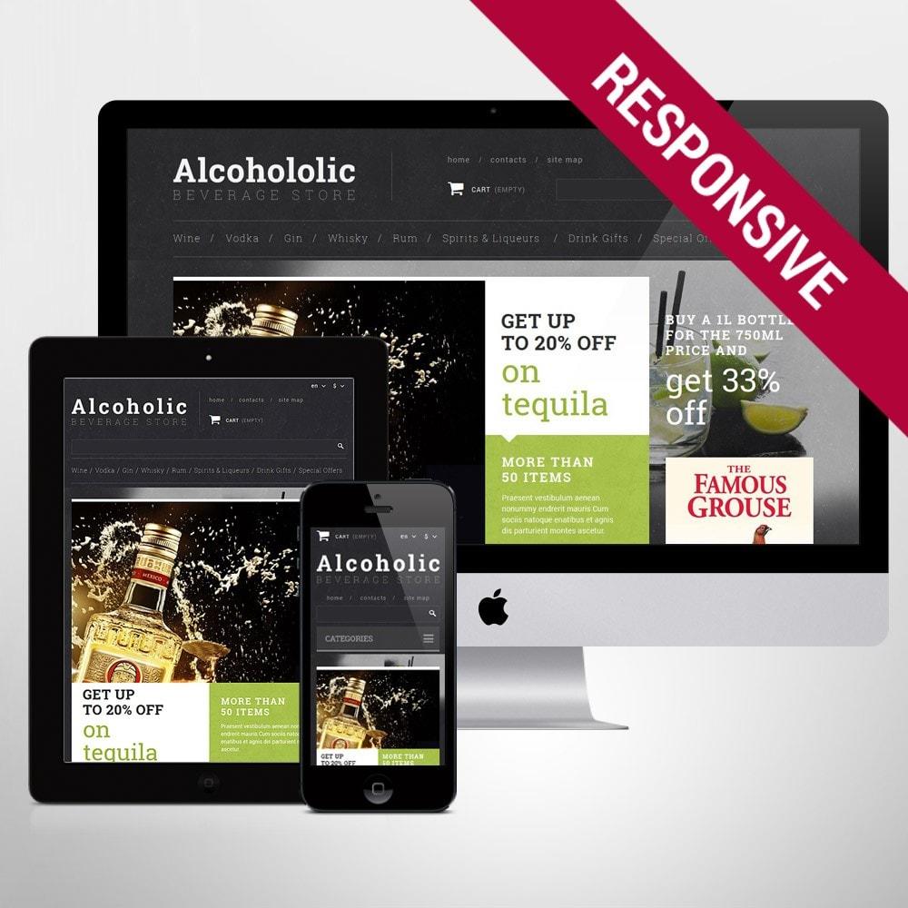 theme - Food & Restaurant - Alcoholic Beverage Store - 1
