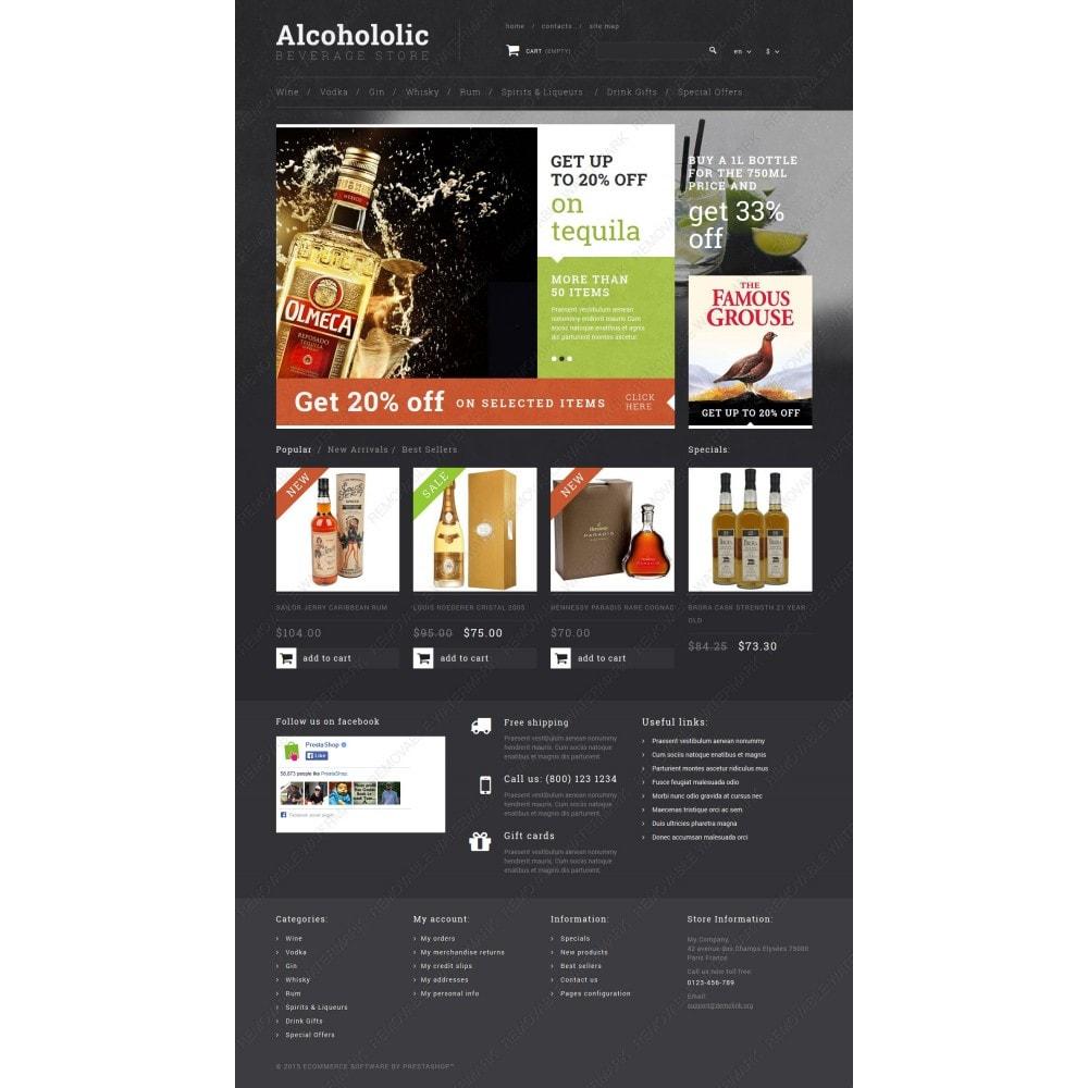 theme - Food & Restaurant - Alcoholic Beverage Store - 3