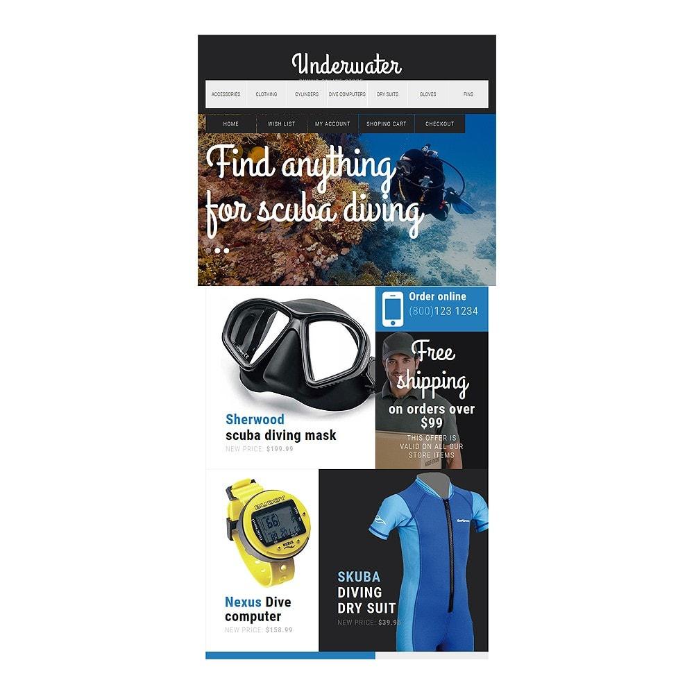 theme - Спорт и Путешествия - Scuba Diving Equipment - 7
