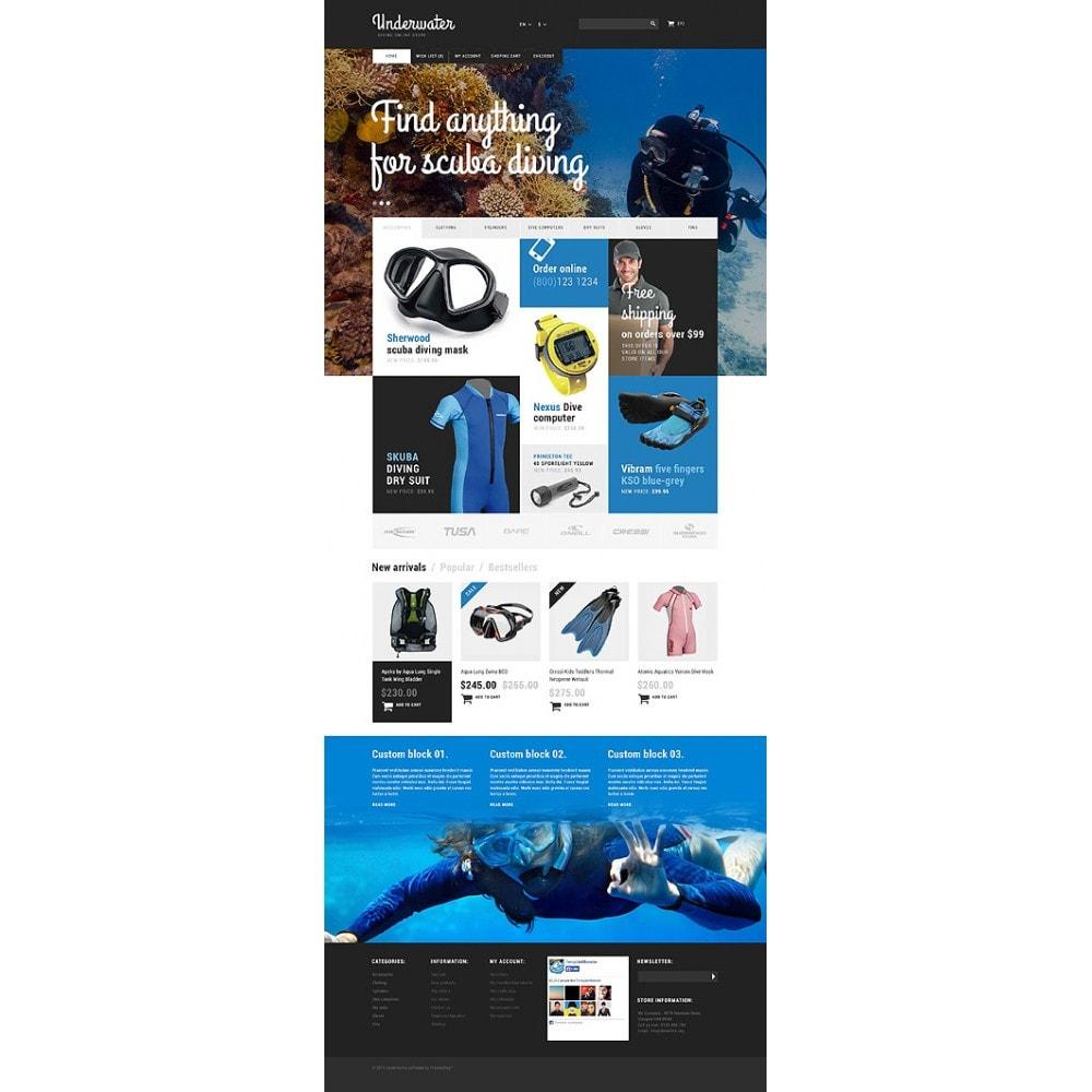 theme - Спорт и Путешествия - Scuba Diving Equipment - 10